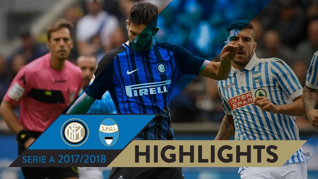 Inter Spal 2 0 Highlights Matchday 03 Serie A Tim