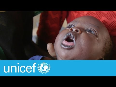She had to cut her umbilical cord with a sharp, dirty stick | UNICEF