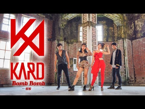KARD BOMB BOMB COVER BY DOMINO INVASION