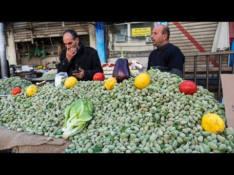 Tour of Amman, Jordan - Delicious JORDANIAN FOOD and Attract