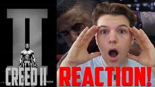Creed 2 Official Trailer REACTION!!! CREED II | Official Trailer | MGM