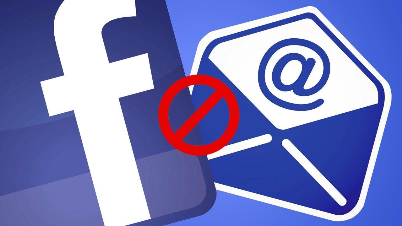 Cách chặn email từ Facebook