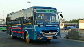 TNSTC Buses Pared In CMBT Area