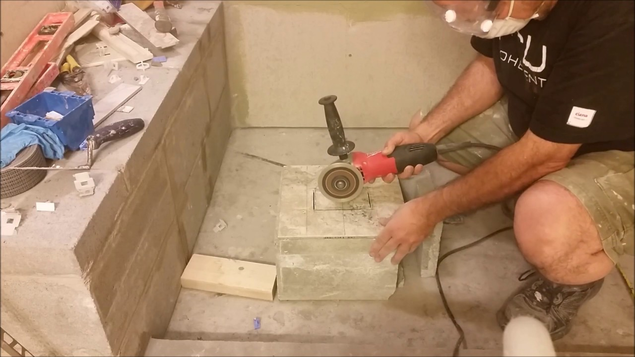 How To Cut A Square Hole In Middle Of Porcelain Tile Make It Easy