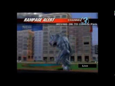 (Wii) Rampage: Total Destruction (Level 8 (New York))