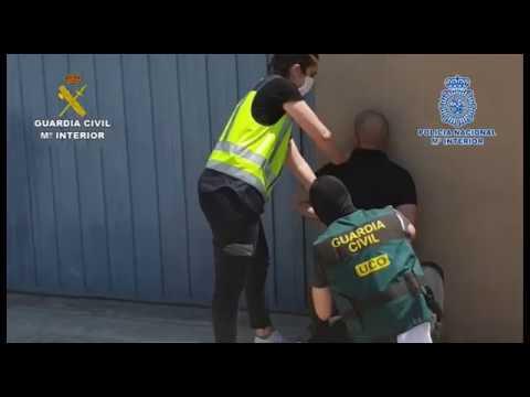 Incautados 3.800 kilogramos de cocaína en el puerto de Valencia