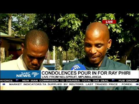 Ray Phiri sons express sorrow following their father's death