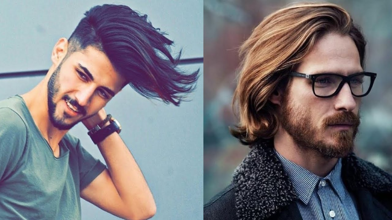 Most Stylish Long Hairstyles For Men 2019 Hair Styles For Boys Medium Length Hairstyles For Men Youtube