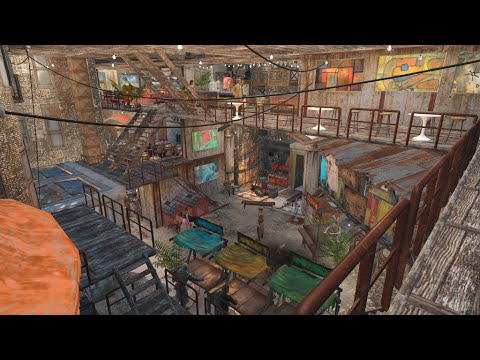 Hangman's Alley Survivor's Community [Fallout 4 Settlement, un-modded survival mode]