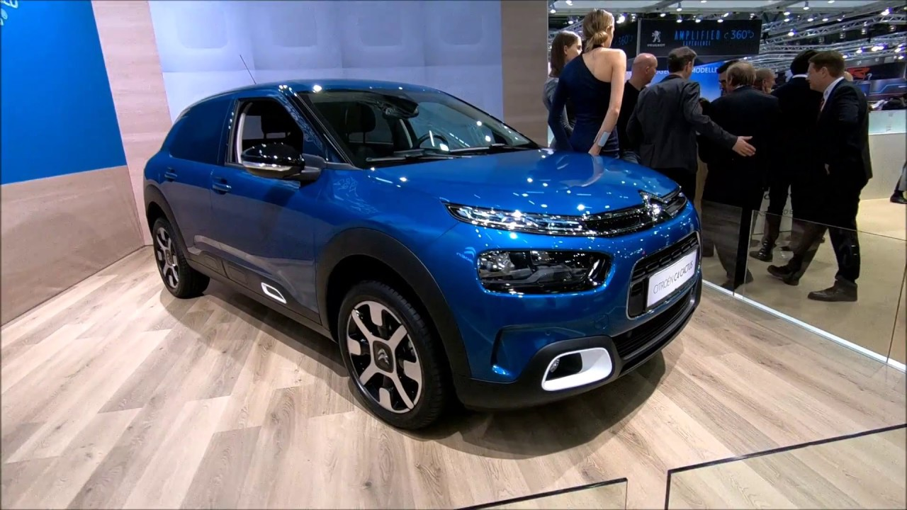 citroen cactus c4 new model 2018 emeraude blue colour walkaround interior youtube. Black Bedroom Furniture Sets. Home Design Ideas