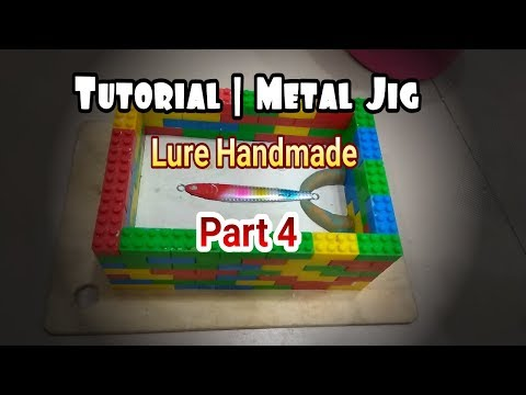Tutorial | Making Metal Jig Fishing Lure Handmade Part 4