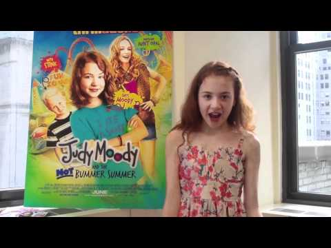 M EXCLUSIVE with Judy Moody star Jordana Beatty