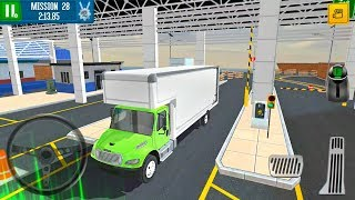 Cargo Crew Port Truck Driver #4 Box Truck - Android Gameplay FHD