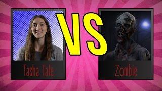 Блогеры против Зомби. Tasha Tale