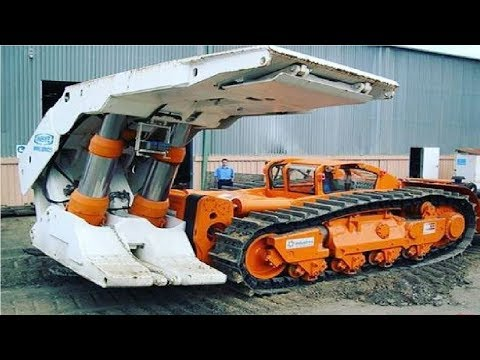 Extreme Dangerous Biggest Construction Machine & Heavy Equipment Working - Amazing Modern Machinery