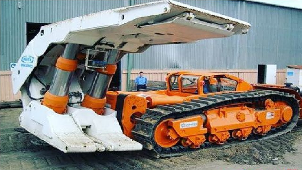 Extreme Dangerous Biggest Construction Machine & Heavy ...