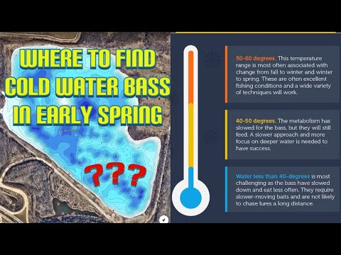 Late Winter/Early Spring Bass Fishing: Part One - Find The Fish