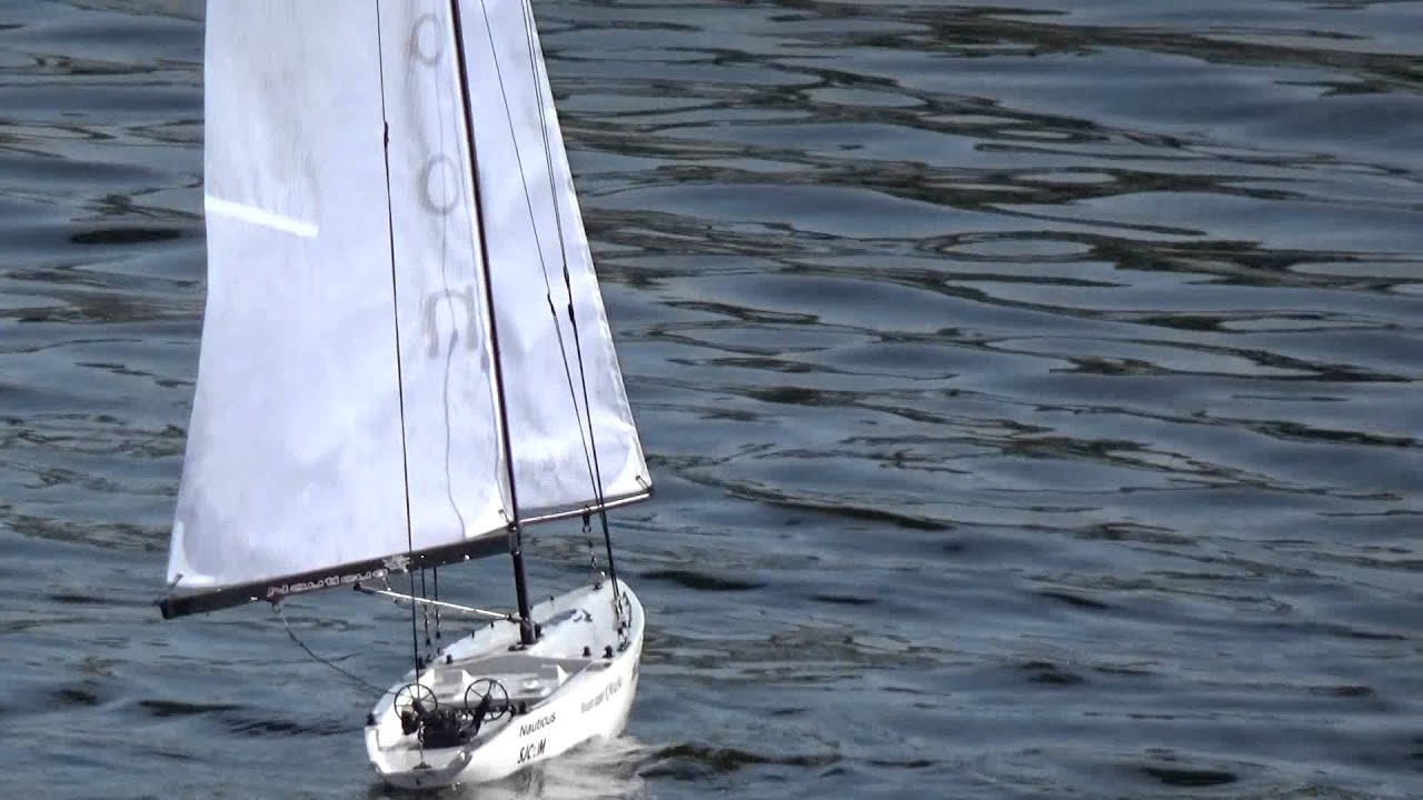 Hobbyking RC Sail boat Monsoon - YouTube
