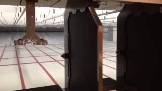 The Gun Vault, indoor range.  South Jordan, Utah