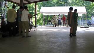 Cajun dance demo