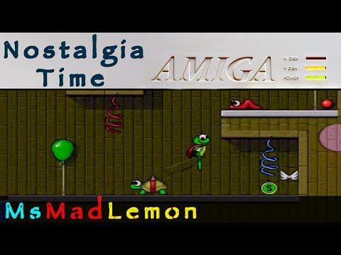 Nostalgia Time Amiga - Superfrog World 3 - Fun Park