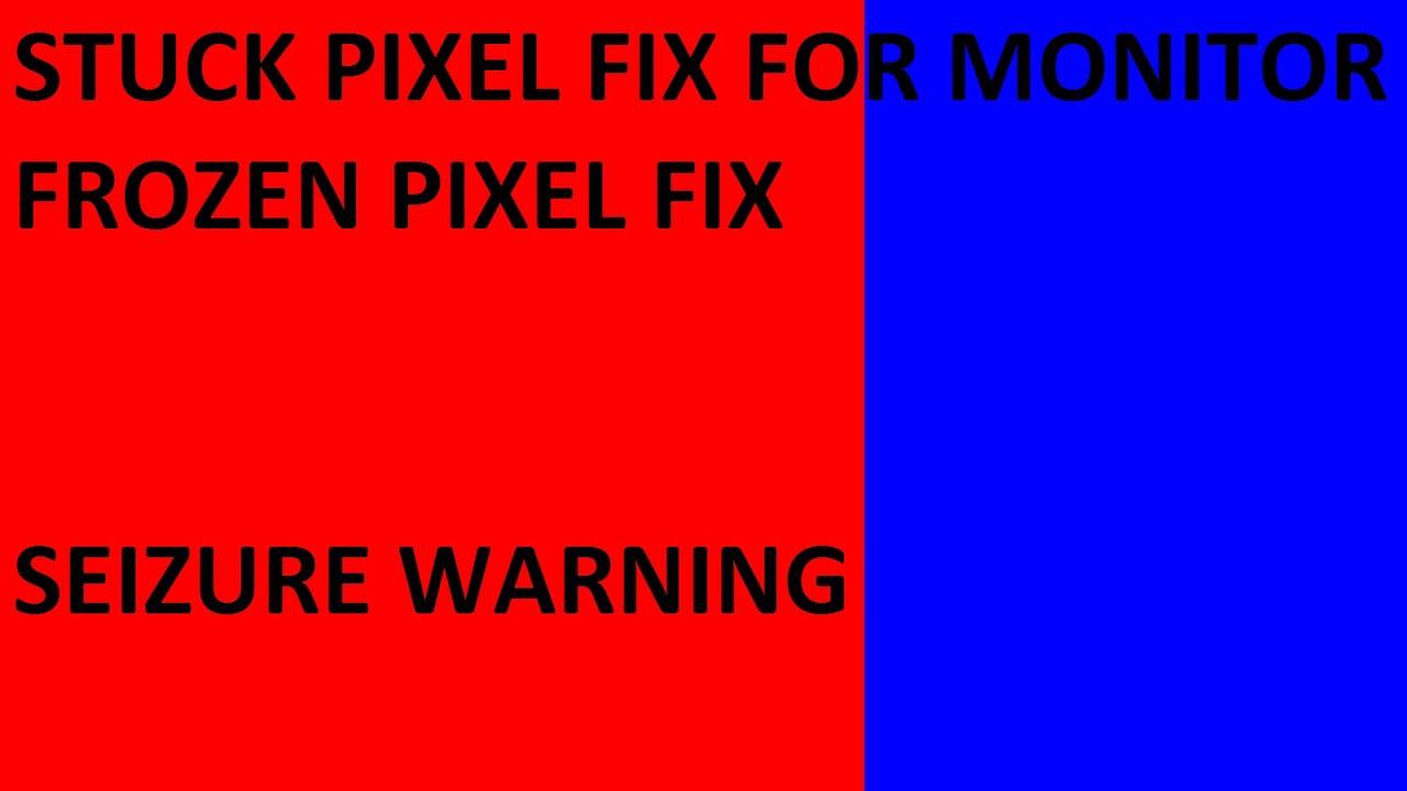 stuck pixel fix for monitor fix your frozen pixels seizure warning 16x9 1080p youtube. Black Bedroom Furniture Sets. Home Design Ideas
