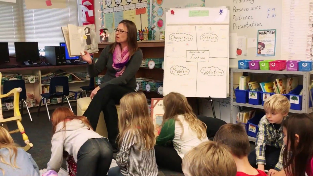 small resolution of First Grade Focus Lesson 2: Story Elements Application (Problem \u0026 Solution)  - YouTube