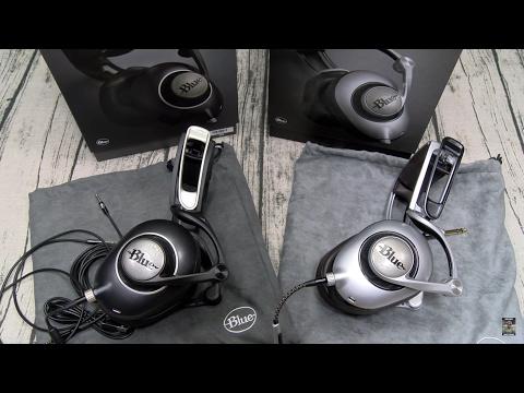 Blue Ella / Sadie Planar Magnetic Headphones With Built-in Audiophile Amplifier