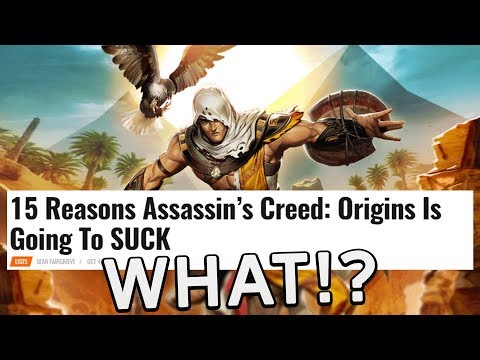 """""""15 Reasons Assassin's Creed: Origins Is Going To SUCK"""" 