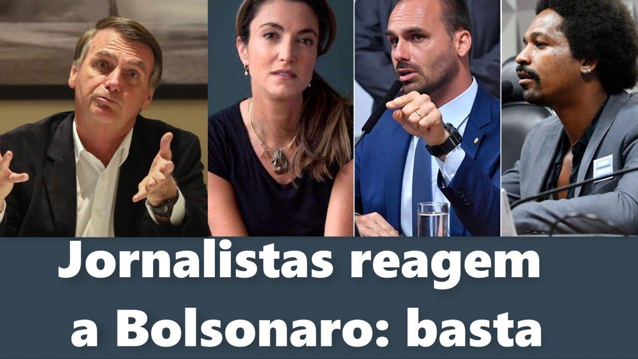 impeachment de Bolsonaro: Jornalistas reagem a Bolsonaro ...