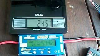 X525 1000KV 20A GWSHD9050 Watt Test