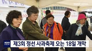 [단신]제3회 정선 사과축제 오는 18일 개막