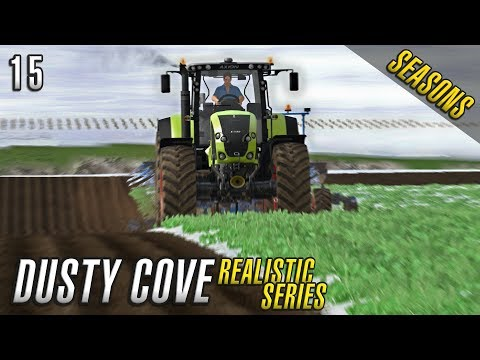 PLOUGHING DAY | Realistic Farming Simulator 17 | Dusty Cove | Day 15