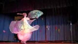 Yasmine of Sirens In Sanity Isis Wing Dance