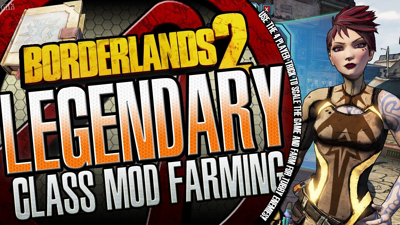 Borderlands 2 Where to Farm the New Legendary Class Mods Ultimate Vault  Hunter Pack 2