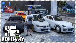 GTA 5 ROLEPLAY - Redline Car Garage Selling & Buying Cars | Ep. 388 Live