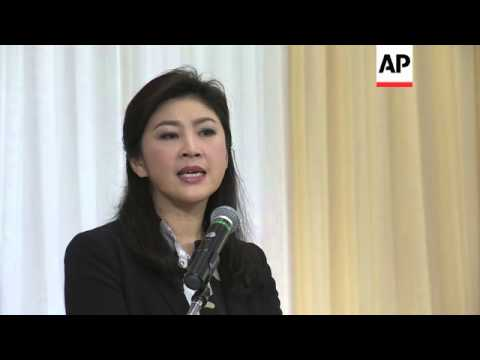 Former Thai PM Yingluck Shinawatra pledges to fight any charges brought against her