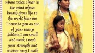 Amazing Grace  Jana Mashonee (Sung in Lumbee)