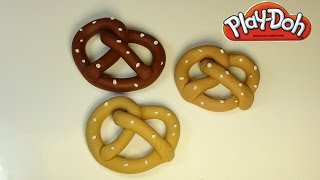 Play Doh Pretzels With A Splash Of Salt Of Course! How To Make Play Doh Pretzels!