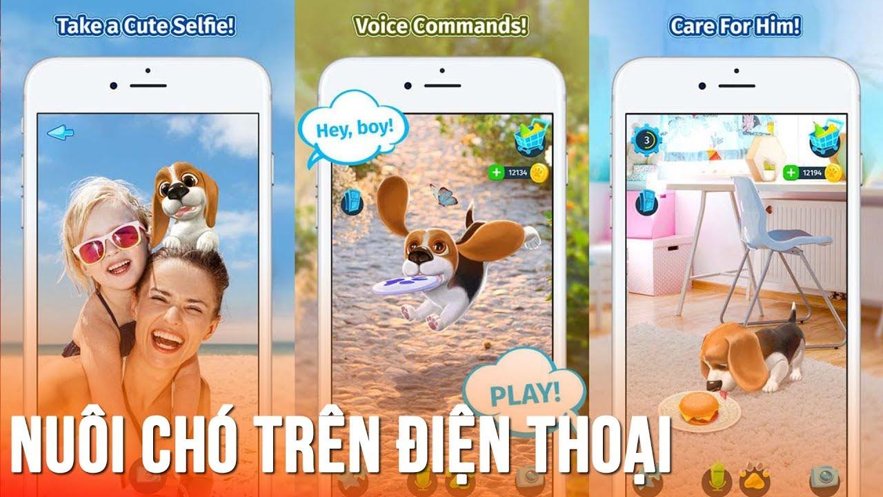 Game smartphone nuôi chó ảo cực thú vị cho năm mới con chó