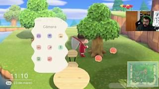 OTRO VECINO Y CONSIGO NARANJAS - Animal Crossing New Horizons - Directo 8