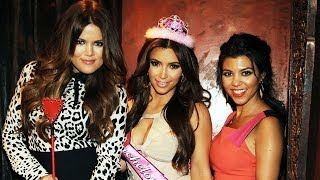 Repeat youtube video Kim Kardashian Shares Bachelorette Party Pictures