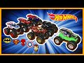 watch he video of GRAVE DIGGER vs SUPER HEROES - MONSTER JAM RACING