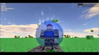 Me Epic knight- Exploded Creeper- Minecraft style in Roblox.