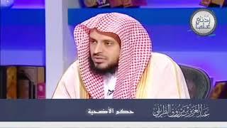 حكم الأضحية || الشيخ عبدالعزيز الطريفي