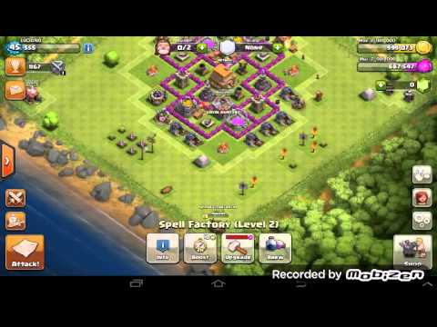 Clash of clans goblin series ( natural defense )