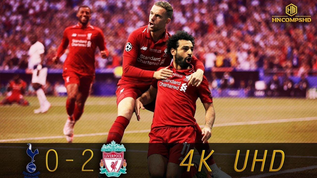Download Tottenham Hotspur 0-2 Liverpool - UCL Final 2019 - All Goals & Extended Highlights (4K UHD)
