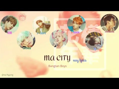 BTS ma city easy lyrics