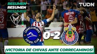 Resumen y Goles | Correcaminos 0 - 2 Guadalajara | Copa Mx - AP 2019 - J 5 | TUDN