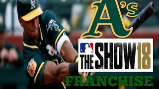 MLB The Show 18 (PS4) - Athletics vs Tigers Game 3 (Full Broadcast Presntation)